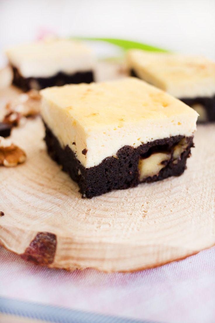 Low Carb Käsekuchen Brownies (Rezeptvideo) – Low Carb Köstlichkeiten