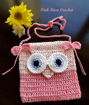 \ PINK ROSE CROCHET /: Owl.  FREE PATTERN 6/14.