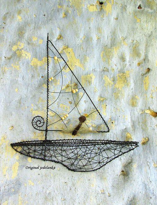 Plachetnice... drátovaná
