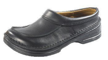 Footprints Handstitched Clogs ''Denton'' from Leather in Black with a narrow insole FOOTPRINTS. $106.76. leather