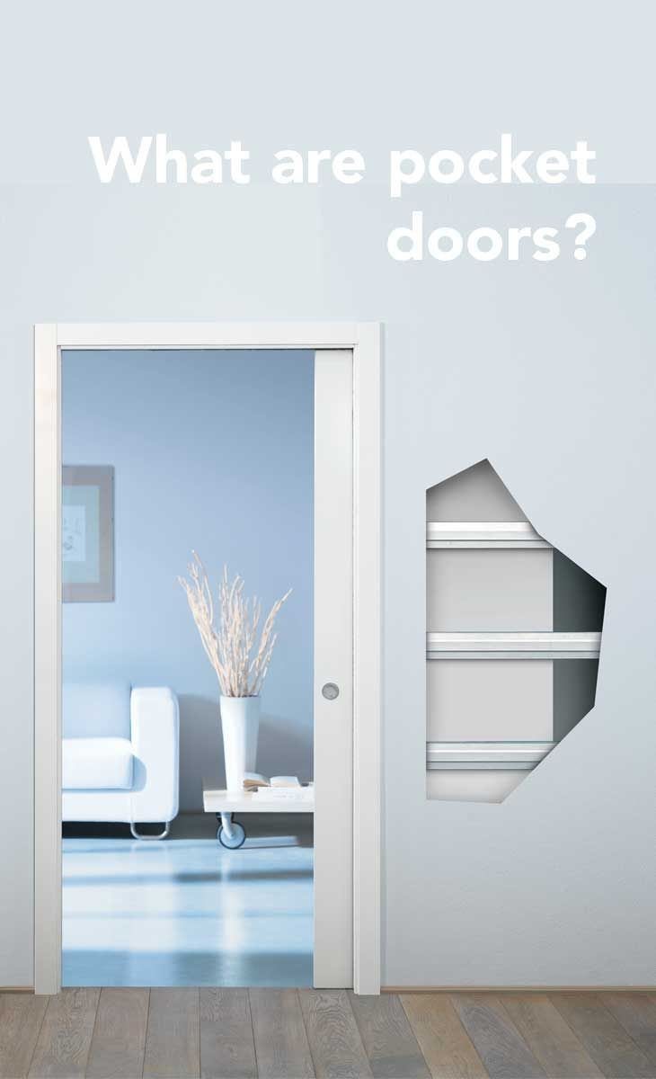 What are pocket doors? An Eclisse sliding pocket door is a system of building a counter frame which is then integrated with stud or solid wall construction. English website: http://www.eclisse.co.uk/ Italian website: www.eclisse.it