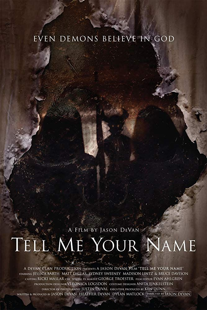Tell Me Your Name (2018) Horror movies scariest