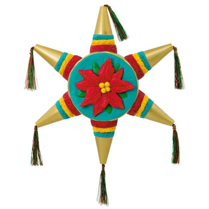 Piñata Navideña Ornament in 2020 | Hallmark ornaments ...