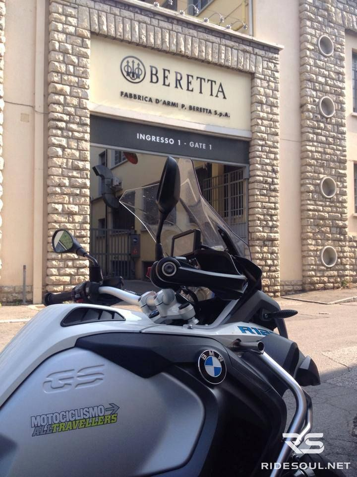 You should know this factory...Beretta's factory! #motorcycle #tour #italy