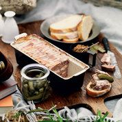 The overall principle of terrines is that they include plenty of fatty pork, some minced or diced rabbit, chicken, duck or pheasant, generally with walnuts or pistachios added, so feel free to experiment with this recipe to find the terrine that best suits you. Ask the butcher to mince the pork and back fat with a coarse blade to ensure the meat is at its freshest. The terrine will need to be made one to two days before it is served to allow the flavours to mature and develop.
