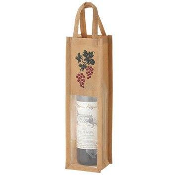 不織布ワインバッグ窓付 1本用  ANAショッピング A-style