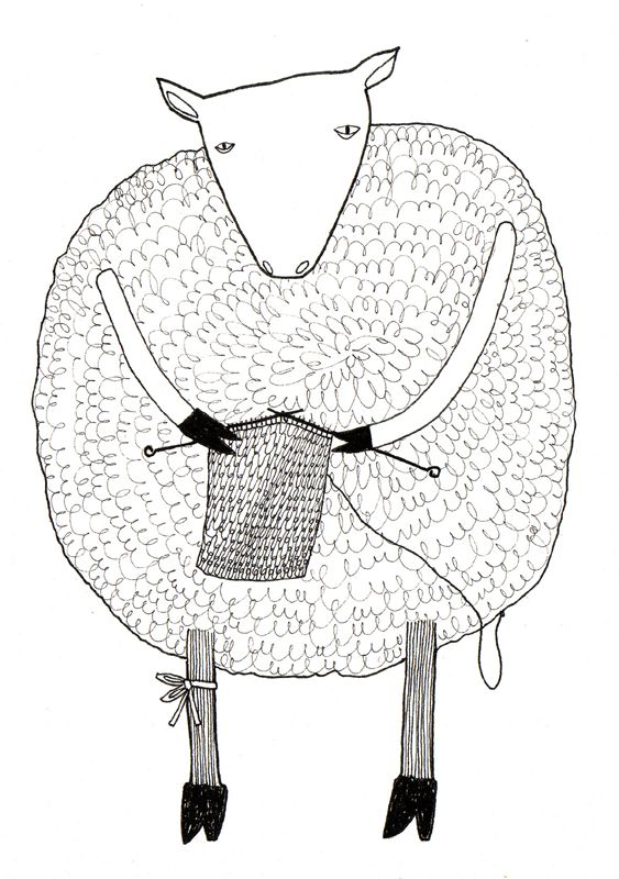 Line Drawing Yarn : Ulla s drawings illustration pinterest