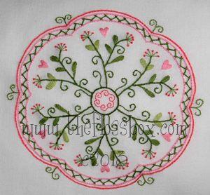The Floss Box | Mandala Embroidery