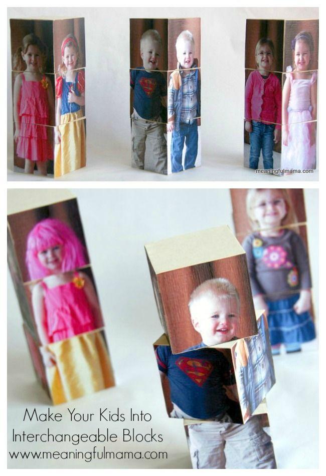 Make Kids into Interchangeable Blocks