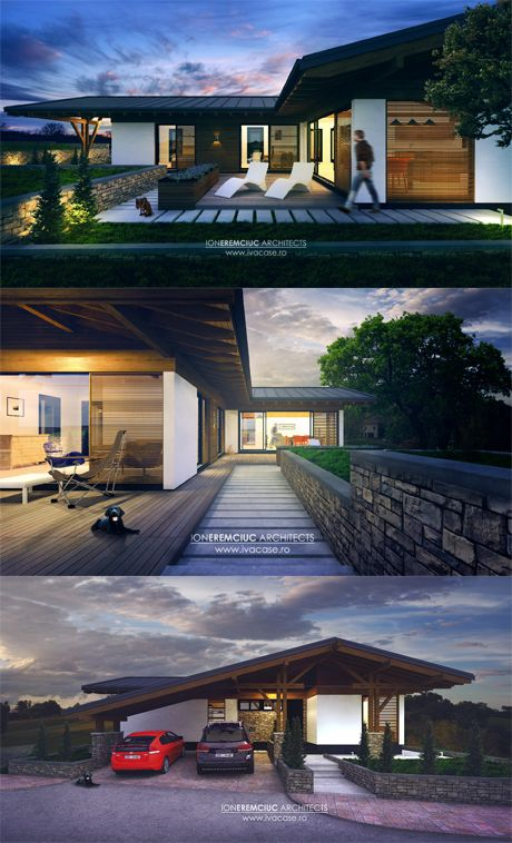 Modern house concept for a young couple.