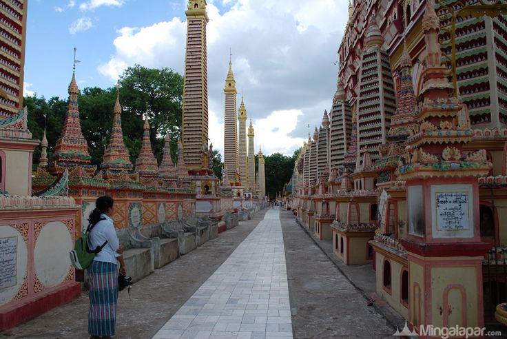 Temple in Monywa Myanmar