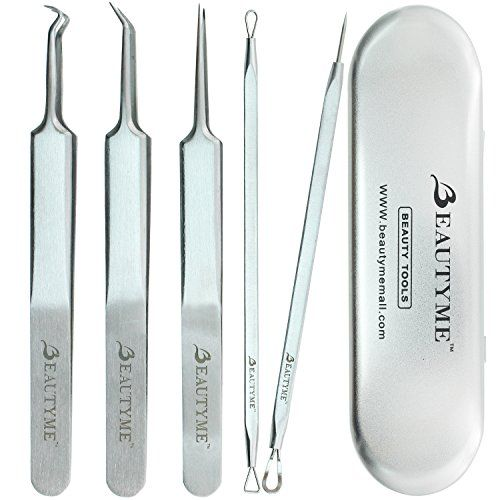 blackhead remover kit pimple comedone acne extractor removal for popping