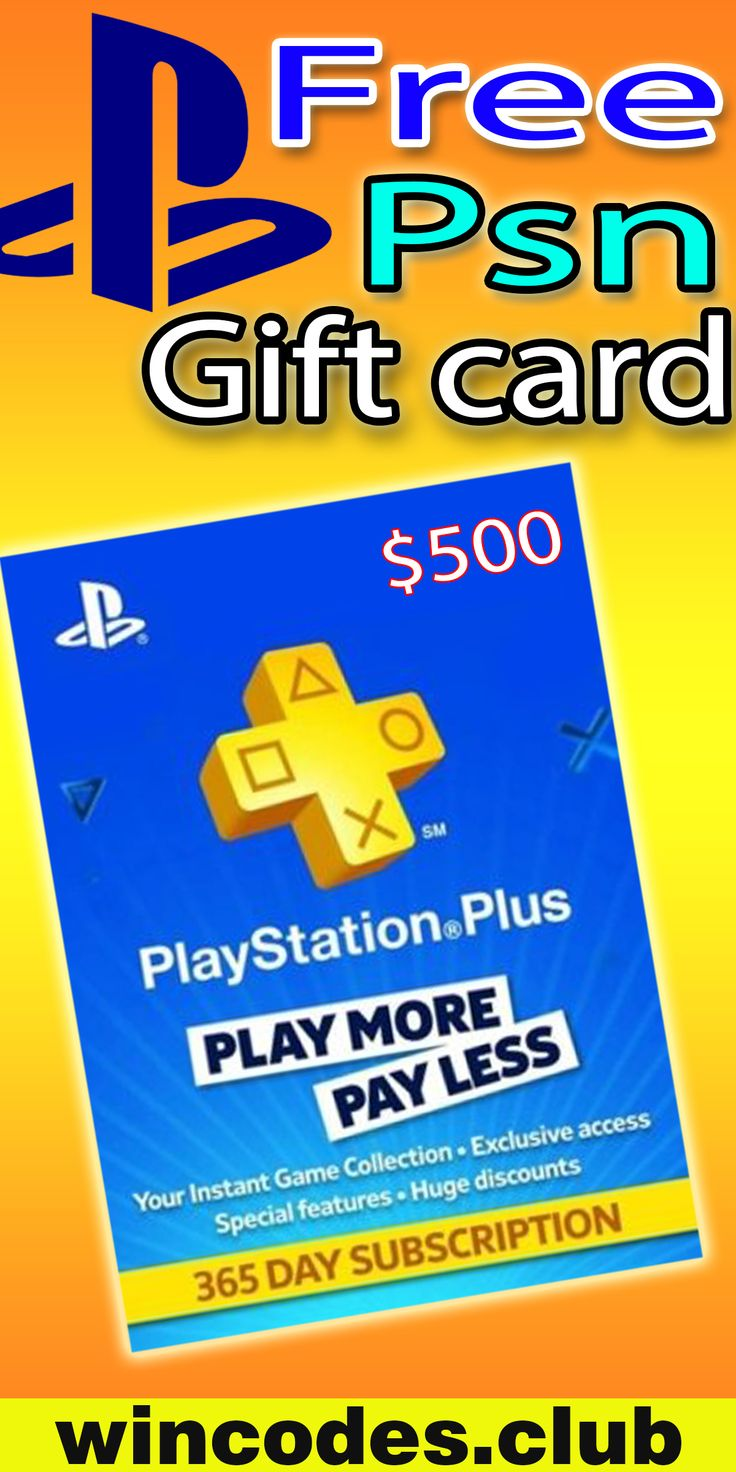 Get free psn codes gift card free gift cards store