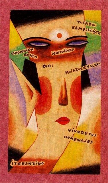 Tu fado ke me elegiste - Xul Solar (Oscar Agustin Alejandro Schulz Solari) - argentino (1887-1963)