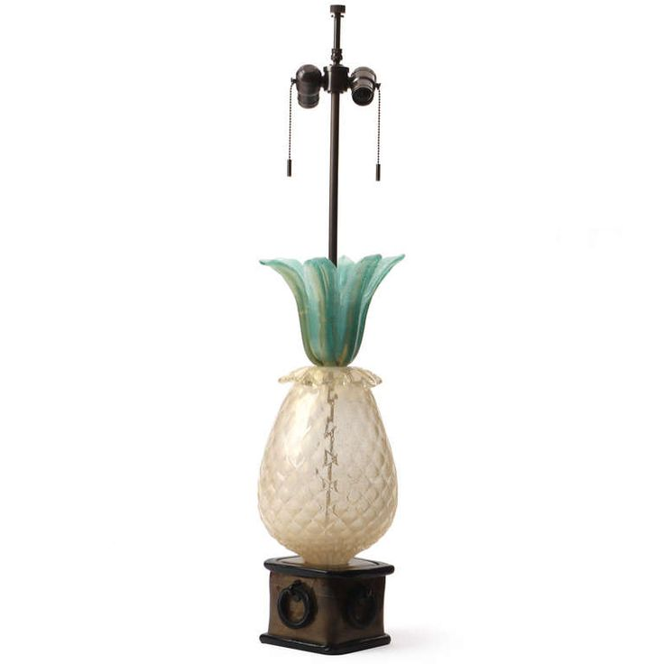 Murano Pineapple Lamp By Barovier | From A Unique Collection Of Antique And  Modern Table Lamps