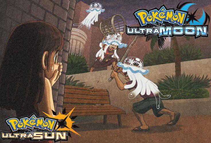 pokemon ultra sun and ultra moon nihilego