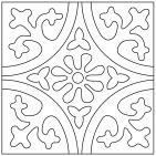 Color-It Cuerda Seca Custom Paint Tool - Fireclay Tile