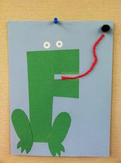 F is for Frog storytime - books, songs, rhymes, and craft