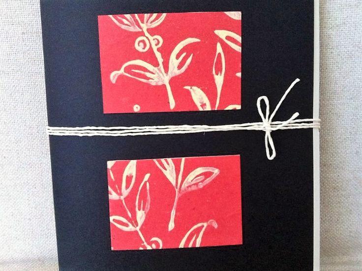Handmade Notebook Detail