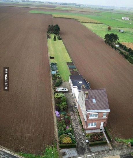 When you hate having neighbours