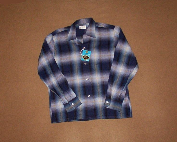 Vintage Towncraft Rockabilly Shirt On Ebay!!!