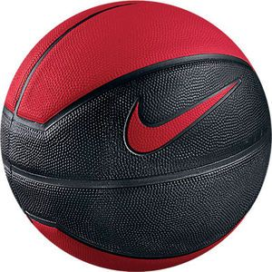 Nike lebron 9 playground basketball ball - black/red ...