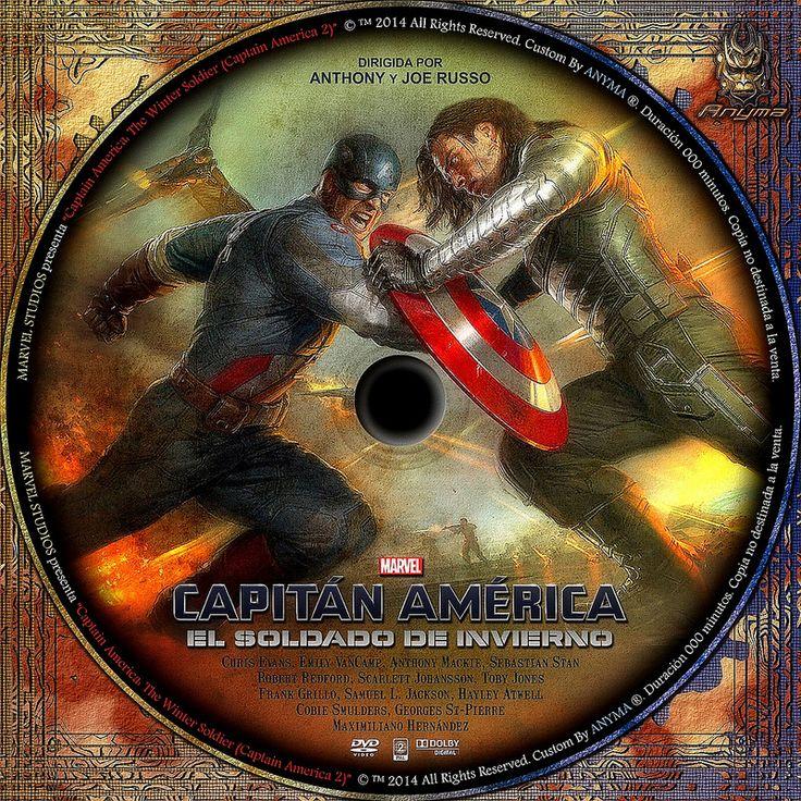 capitan america el soldado de invierno   por Anyma 2000
