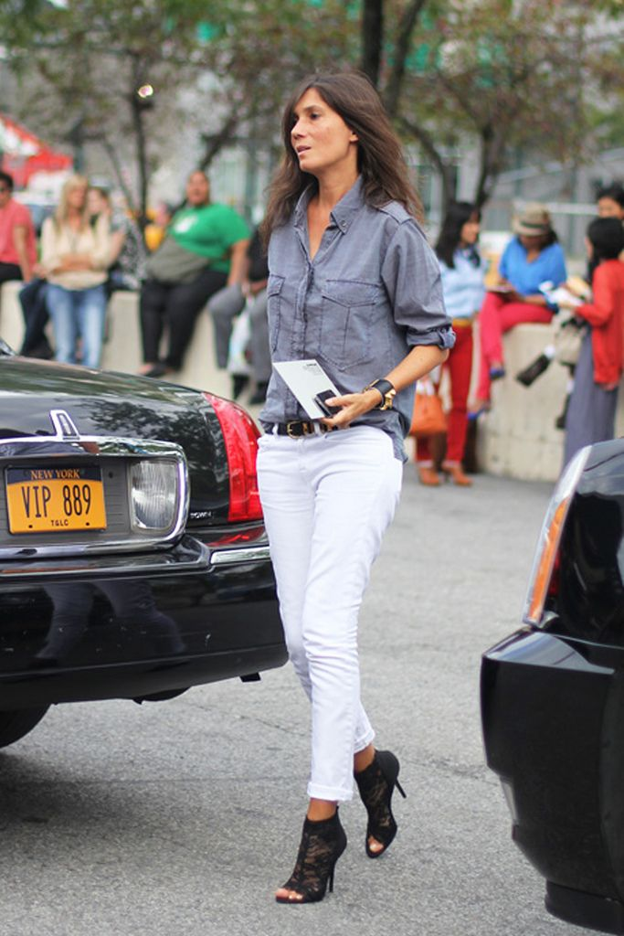 Emmanuelle Alt - chic as h*ll Editor-in-Chief of French Vogue