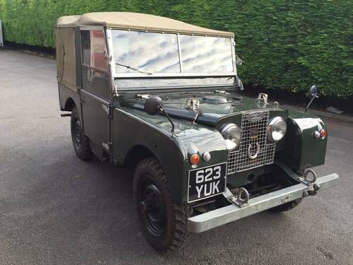 Very Clean 1951 Series 1 80 Restored some 5 years ago Very good runner Starts on the button Original brass fire extinguisher Heater New interior New canvas Always inside ...