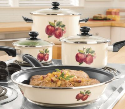 Ginnyu0027s Brand Cookware, Apple 7 Pc. Set
