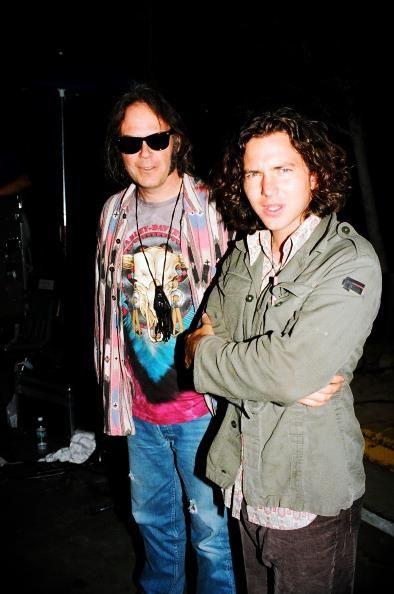 Eddie Vedder & Neil Young