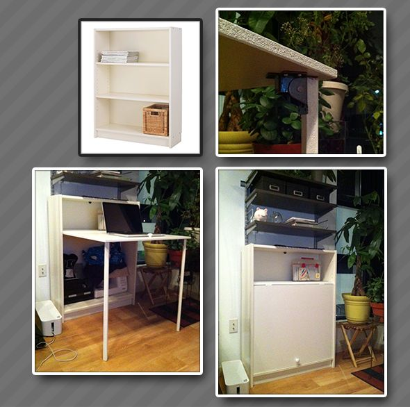 Billy Bookcase Desk: 79 Best Images About Billy Bookcase On Pinterest