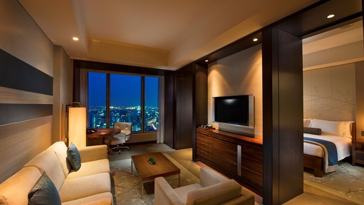 Conrad Tokyo, Japan hotel - King Suite with Bay View
