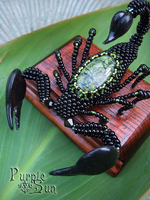 Скорпион. Handmade.
