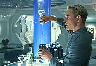 Michael Fassbender as David 8 || Prometheus