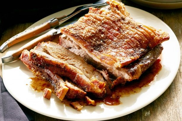 Cumin and salt crusted pork roast - Curtis Stone