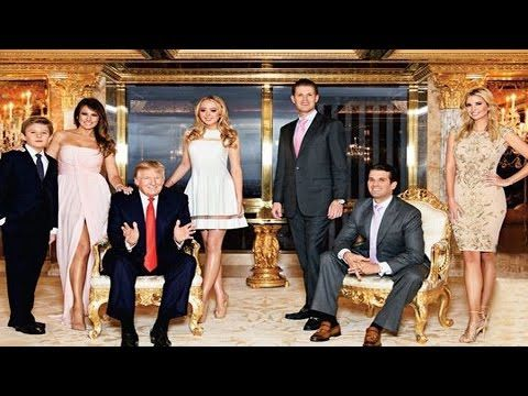 (3) Family Tree Donald Trump Gallery: GRANDDAUGHTER, SON, DAUGHTER AND WIFE - YouTube
