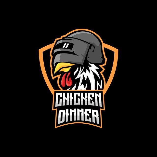 Chicken With Helmet E Sports Logo Pubg Player Unknown S Battlegrounds Vector Illustration Winner Winner Chicken Dinner Chicken Dinner Sports Logo Sport Poster Design