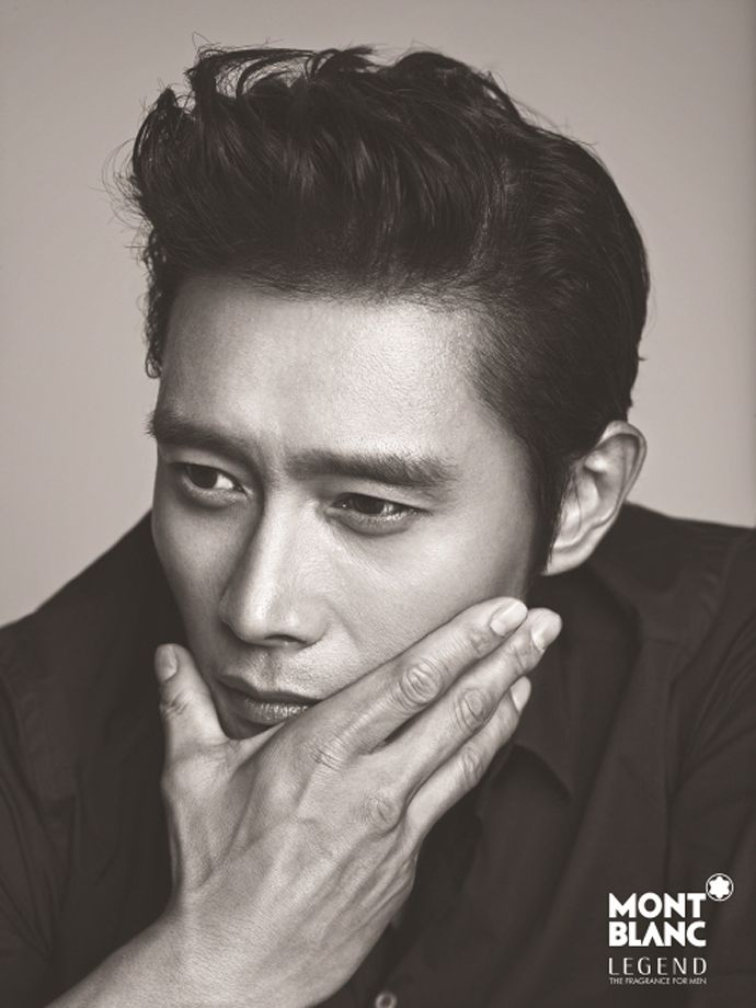 Lee Byung Hun for Montblanc's 'Legend' Cologne