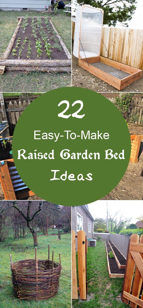 diytotry u201c 22 Easy To Make Raised Garden Bed
