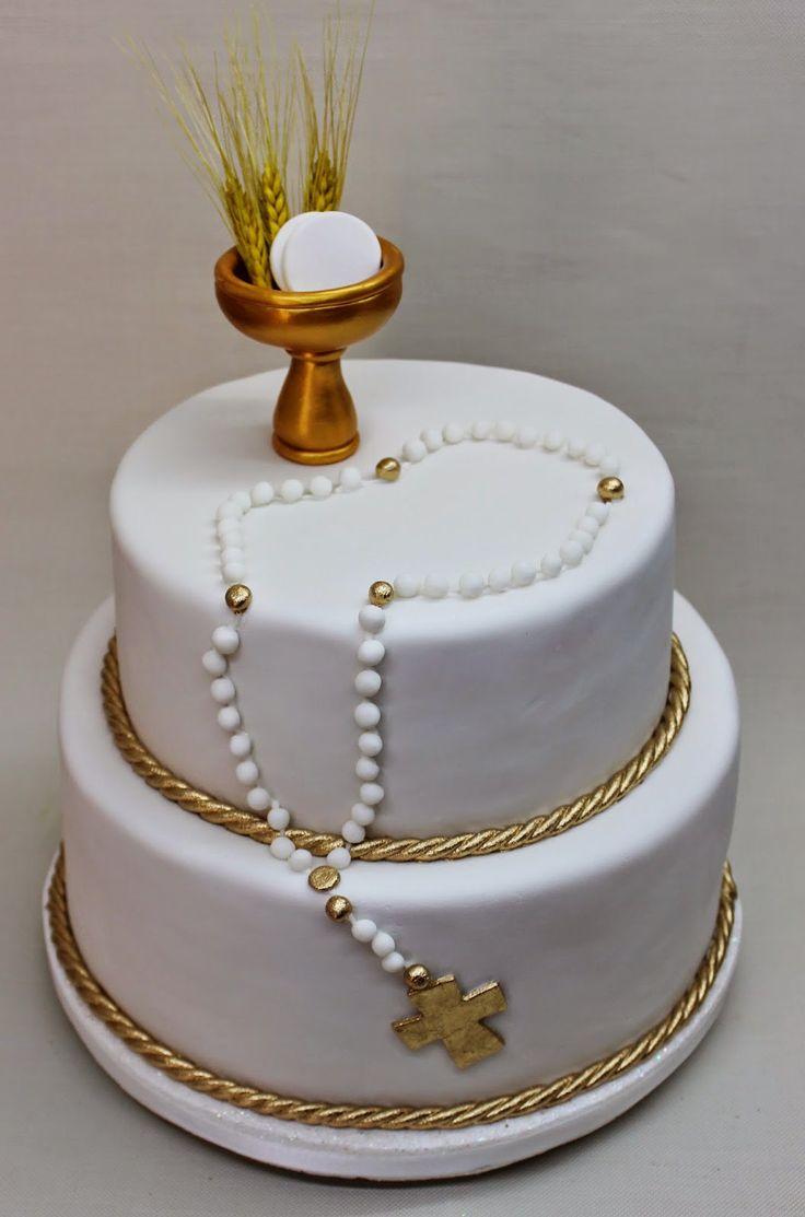 pastel para primera comunión24