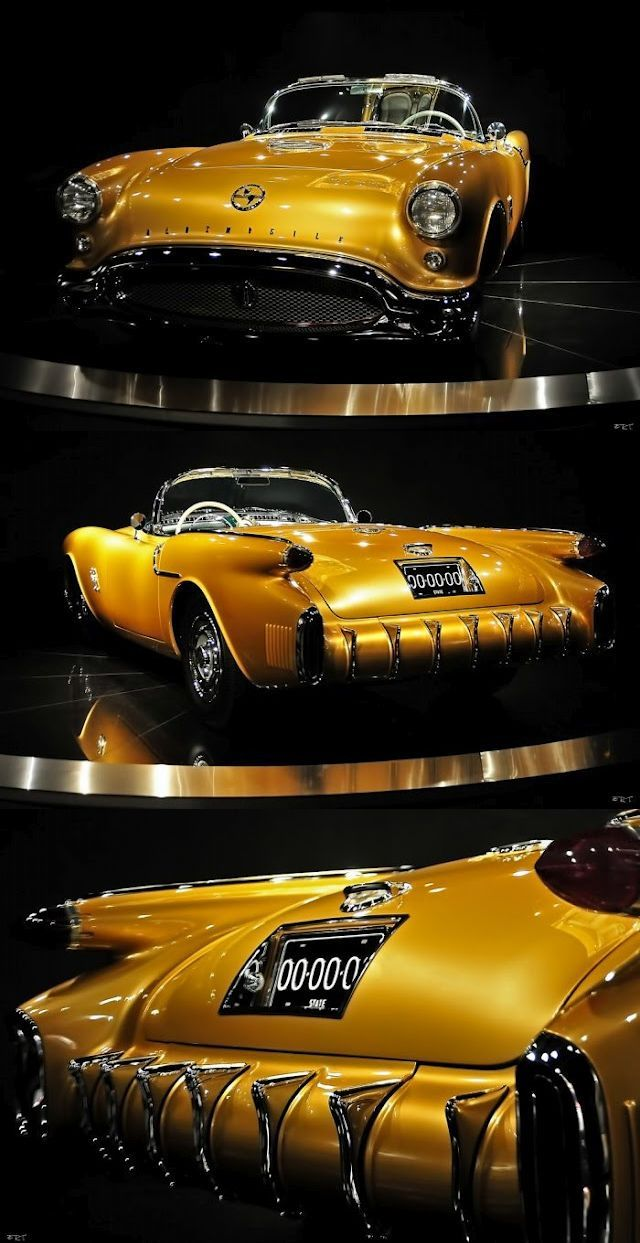 What a stunning 1954 Oldsmobile F-88 Convertible. #lease #vintage #PremierFinancialServices
