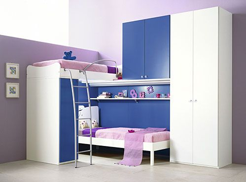 Loft+Beds+For+Teens+Girls | 10 Beautiful Teen Room Designs with Bunk Bed and Loft Bedroom from IMA ...