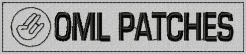 OMLpatches.com - Merrowed Nametape - Shocker, $6.50 (http://www.omlpatches.com/merrowed-nametape-shocker/)