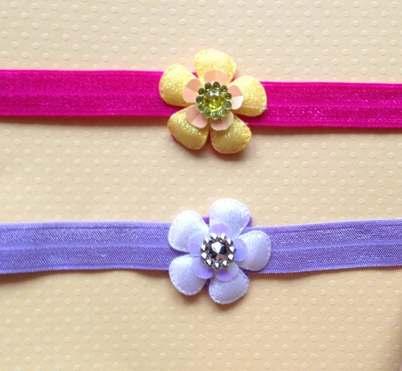 Toddler Little Miss Petal Headbands by BooLouBaby on Etsy