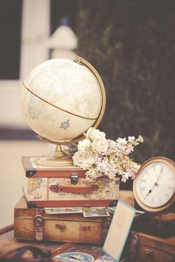 Old World Travel Inspired Shoot. Retro, Vintage, Home Improvement. homeyou: design the home you love