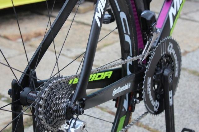 Bicicletas Merida del equipo Lampre