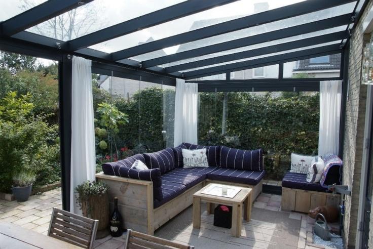 ©Laan, Kunststof-Aluminium, veranda, serre, living outside, garden home