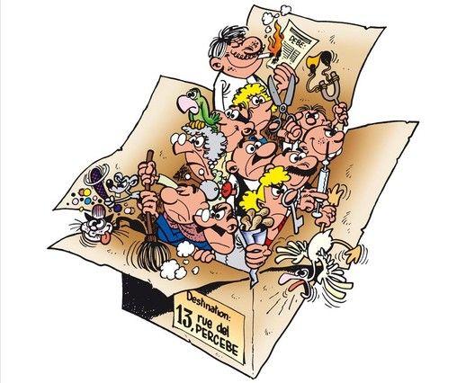 La edición integral de '13, Rue del Percebe', la mítica serie de Francisco Ibáñez cumple este domingo 55 años y llega este miércoles a las librerías