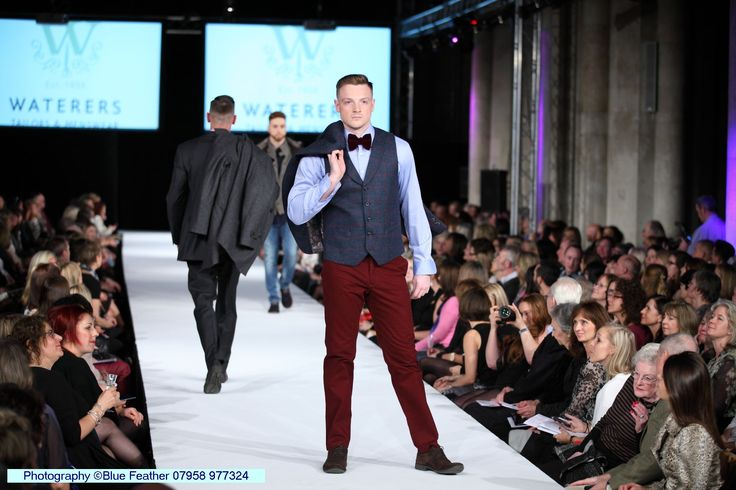 An earthy red pair of trousers are essential for your winter wardrobe #SAFW14